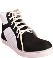 Walk Free Refind Black Canvas Shoes