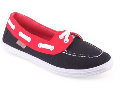 Lancer Casual Shoes(Black, Red)