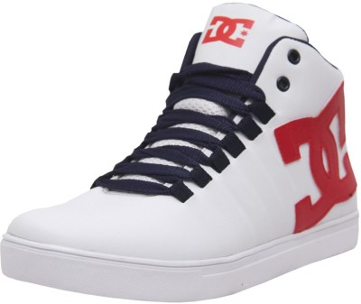 West Code Men's Synthetic Leather Casual Shoes 7090-White-8 Casuals