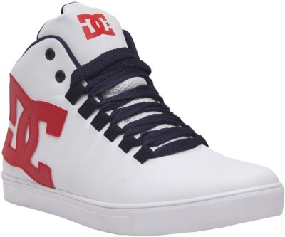 West Code Men's Synthetic Leather Casual Shoes 7090-White-7 Casuals