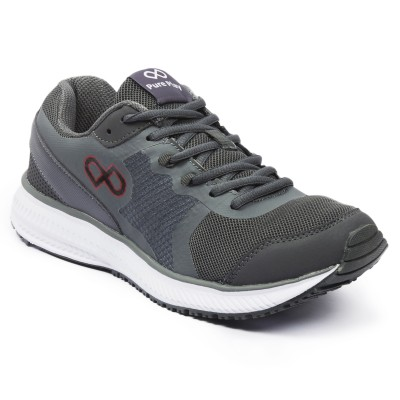 Pure Play Trainer-Grey Running Shoes