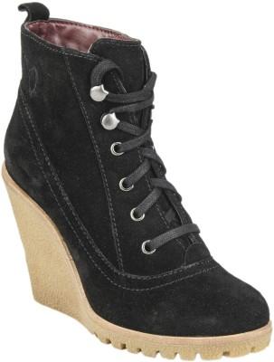 Delize PLS50052-Black Boots(Black)
