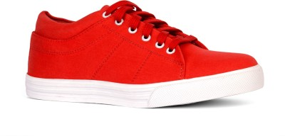 Sam Stefy Canvas Shoes(Red)