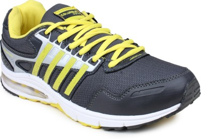 Columbus Basketball Shoes(Grey, Yellow)
