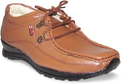 Sapatos Tan Genuine Leather stylish Outdoors