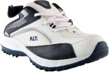 Porcupine Laced Running Shoes (White, Bl...