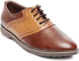 Ten Brown Leather Brogues Lace Up (Brown...