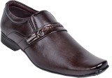 skyler Slip On Shoes (Brown)