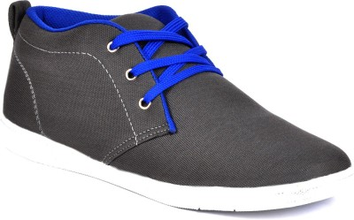 Footlodge Canvas Shoes(Grey)