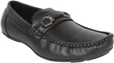 Firemark 2122 Black Loafers
