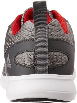 Adidas YKING M Running Shoes(Grey, White, Red) at flipkart