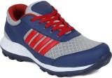 Sukun Walking Shoes (Blue, Red)