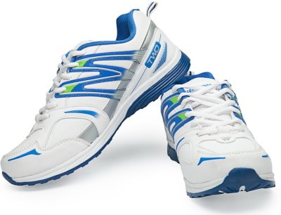 TOUCHWOOD Primo4 White Sports Running Shoes, Walking Shoes