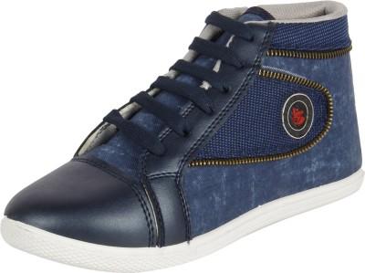 Vivaan Footwear Blue-190 Sneakers