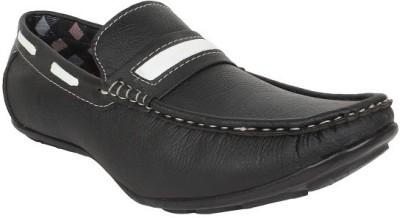 Firemark 202 Black Loafers