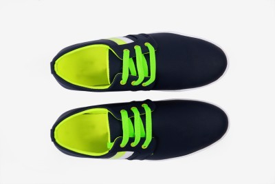 Western Fits Green Casual Shoes