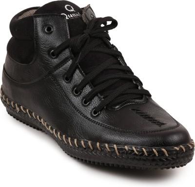Quarks Casual Shoes(Black)