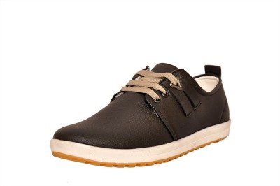 West Code Men's Synthetic Leather Casual Shoes 814-Black-7 Casuals