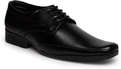 Feather Leather Shoes 028 Lace Up Shoes