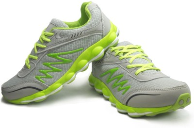 RCI Grey and Green Mens Running Shoes