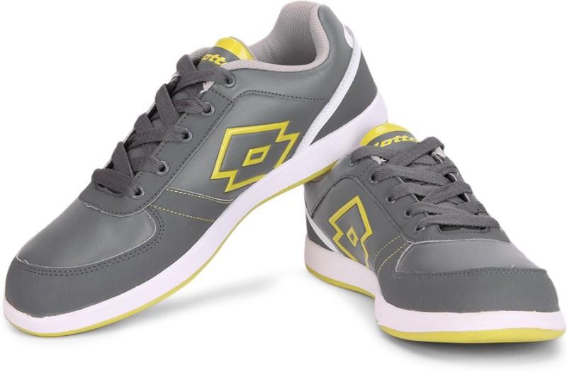 Lotto LOGO PLUS III SneakersGrey Yellow