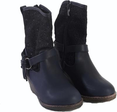 Pinza Blue Cowboy Boots