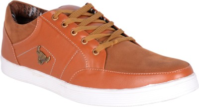 Welldone Mens Brown Casuals Shoes Casuals