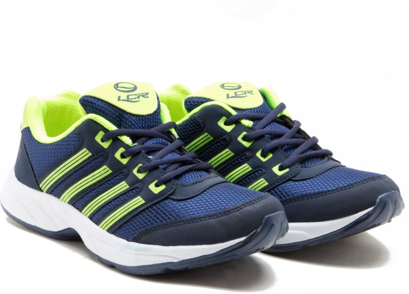 Lancer Hydra-3 Running Shoes(Navy, Green)