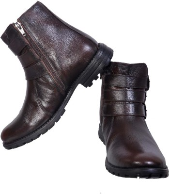 Apaache Brush Off Leather Boots