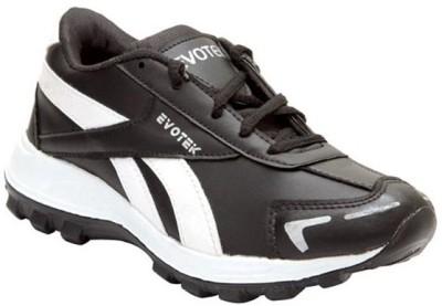 Blue Hut Black Sport Running Shoes