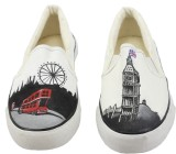 LazyBrats London City Hand Painted Custo...