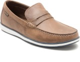 Red Tape Loafers (Brown)