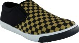 LeCobbs Canvas Shoes (Black, Yellow)