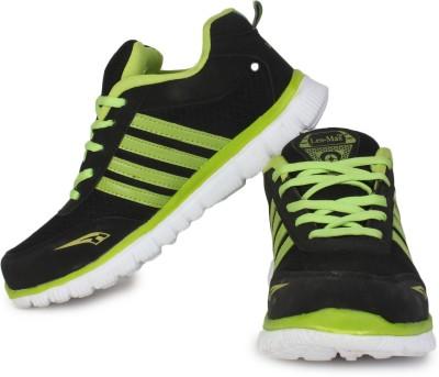 Leo-Max Black Running Shoes