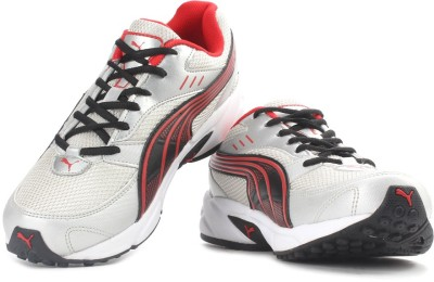 Puma Pluto DP Men Running Shoes(Grey, Red)