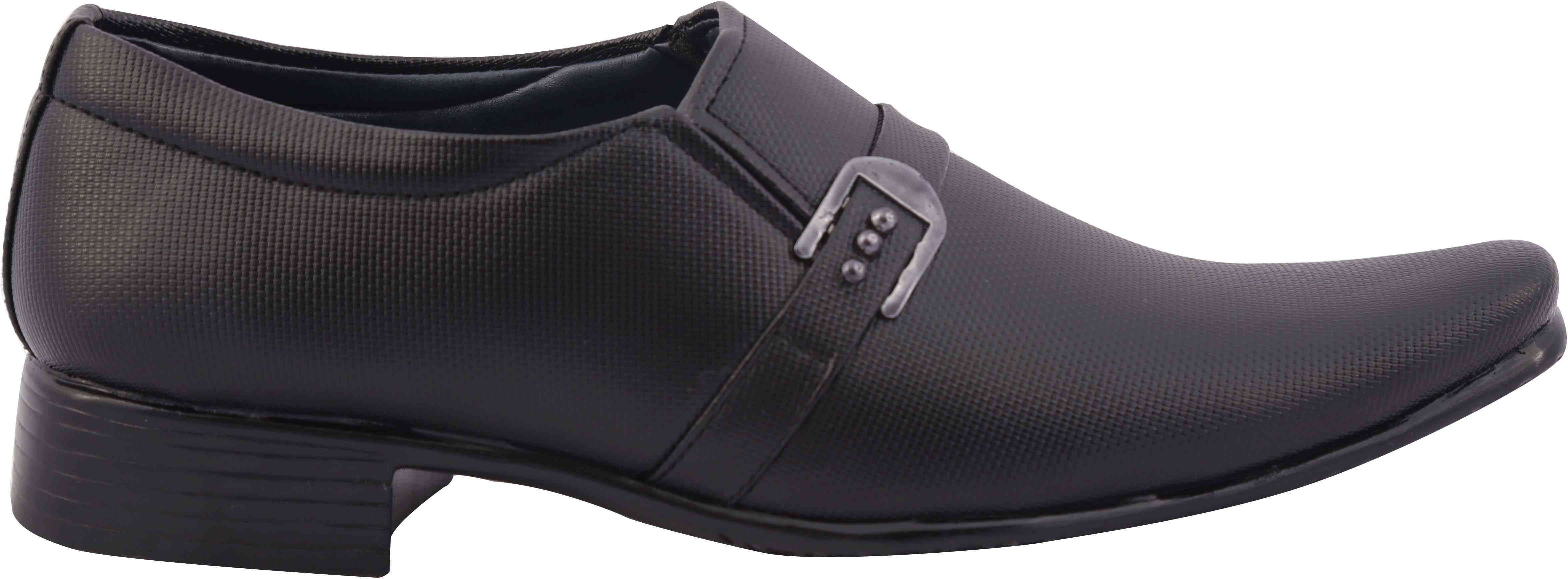 BALAS Balas Slip On Shoes Party Wear(Black) Image