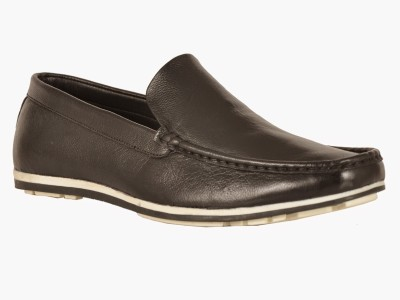 Avante Moda Milled Leather Loafers