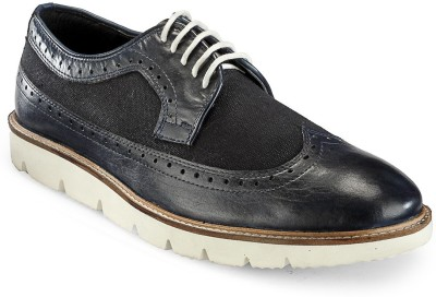 Hats Off Accessories Brogue Derby Navy Blue Corporate Casuals