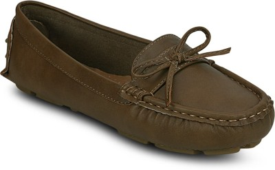 Kielz Camel-Synthetic Leather-Ladies Loafers Loafers(Camel) at flipkart