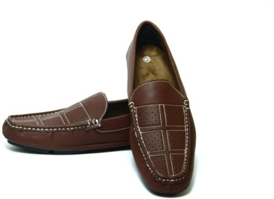 Mori Driving Brown Loafers