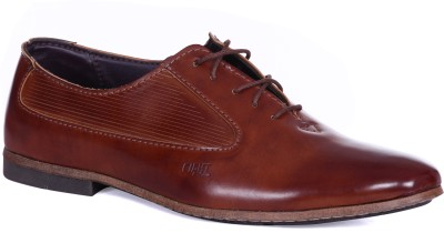 Royal Collection Brown Lace Up Shoes