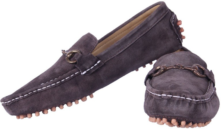 Austrich Moccasin Loafers(Brown)