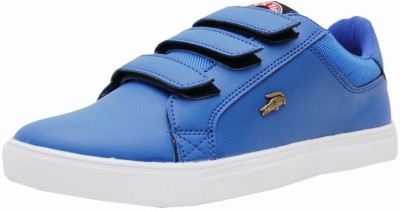 Black Tiger Men's Synthetic Leather Casual Shoes 8058-R-Blue-7 Casuals