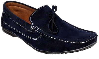 Raja Fashion Synthetic Blue Boat Shoes