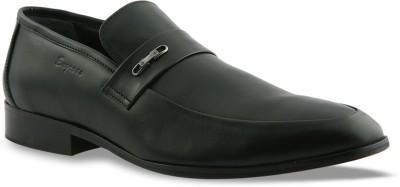 Engross Side belt loafer Slip On(Black)
