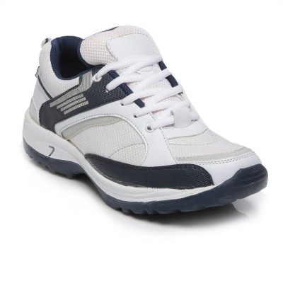 TEN White::Blue Mesh Sports Shoes Running Shoes