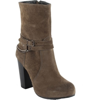 Salt N Pepper 14-546 Rebacca Camelot Suede Boots Boots