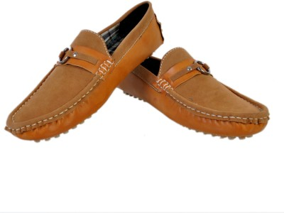 Stylords Comfortable Tan Loafers Loafers