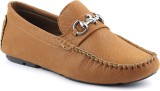 Platinum Peacock Loafers (Tan)