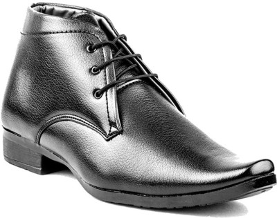 DK Derby Kohinoor Black Lace Up Shoes
